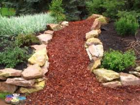 finish your garden with decorative bark the garden