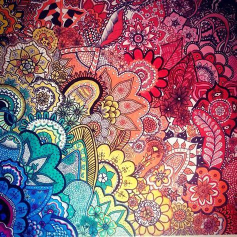 zentangle pattern colour zentangling color me zentangled