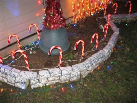 big lots candy cane pathway lights 8 ct outdoor christmas