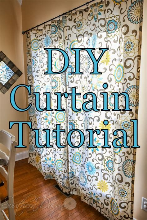 easy curtain tutorial j might like this fabric diy curtain tutorial by