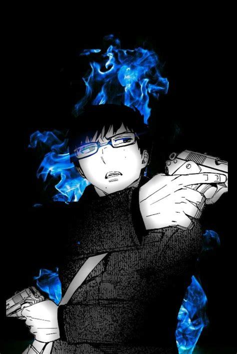 anoboy ao no exorcist yukio okumura blue exocist pinterest