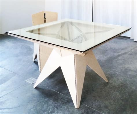 Origami Furniture - origami furniture study a table 2