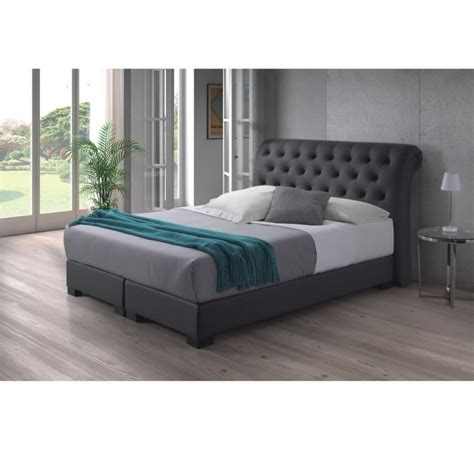 bett rund 140x200 boxspring matratze 140x200 box bed 160x200 cm pu
