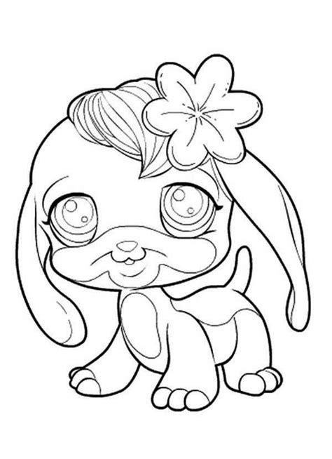 little miss pet shop coloring pages kids coloring