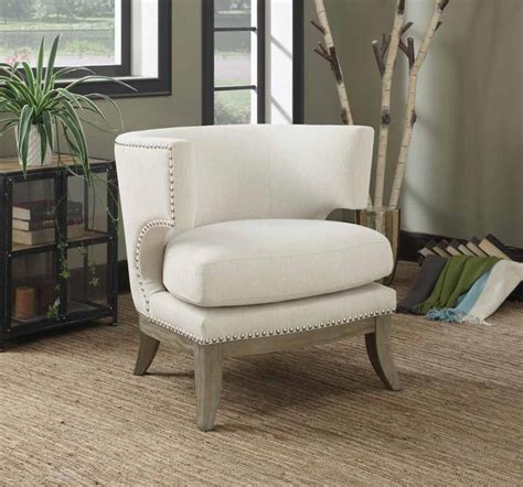 Fabric Accent Chair Ethan Modern Fabric Accent Chair
