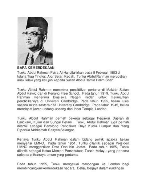 essay biography of tunku abdul rahman biodata tunku abdul rahman bapa kemerdekaan google