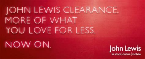 sale john lewis john lewis clearance sale continues january 2015