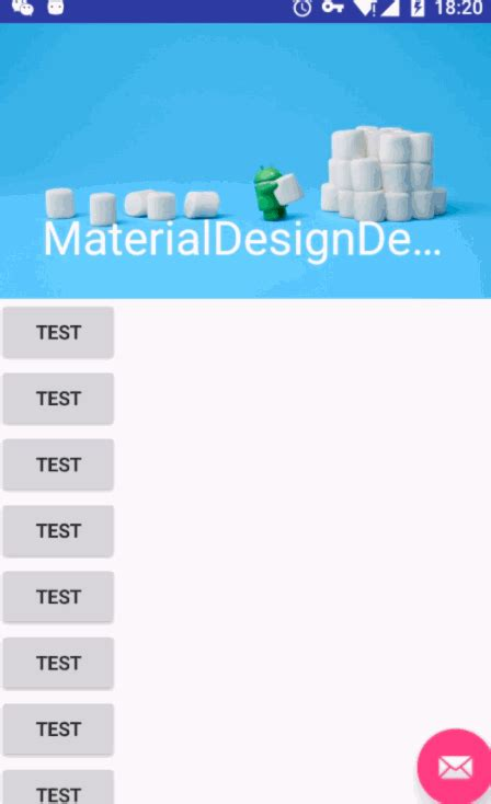 android layout collapsemode android material design简单使用 简书