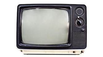 when did color tv become popular when was television invented