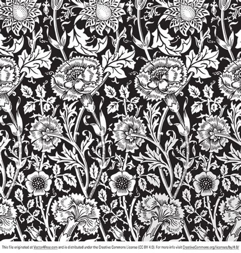 vector pattern free commercial use free floral vector pattern
