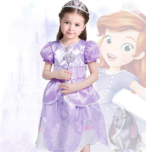 Sofia The First Disney Princess Child S Fancy Dresses Kids Princess Costume From Sofia The Printable