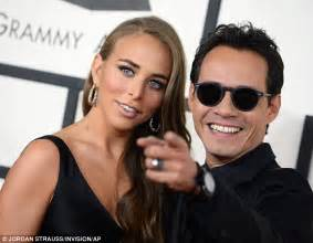 Marc Anthony Buys 26m Earrings To Thank For by Green Wears Satin Gown As She Joins Marc Anthony On