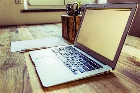 Neourban Hipster Office Desktop Business Photos On Office Desk Top