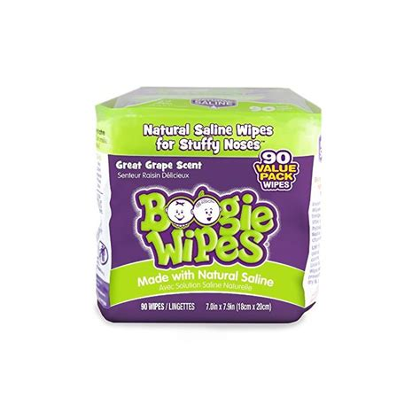 boogie wipes boogie wipes grape refill 90 count