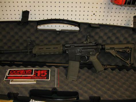 od green m4 15 moe ar15 m4 rifle 100425 5 56mm 16 in od green