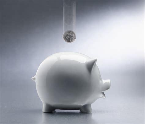 piggy bank savings piggy bank fox in flats