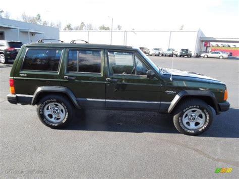 dark green jeep cherokee 1995 dark green jeep cherokee 4x4 74925470 photo 6