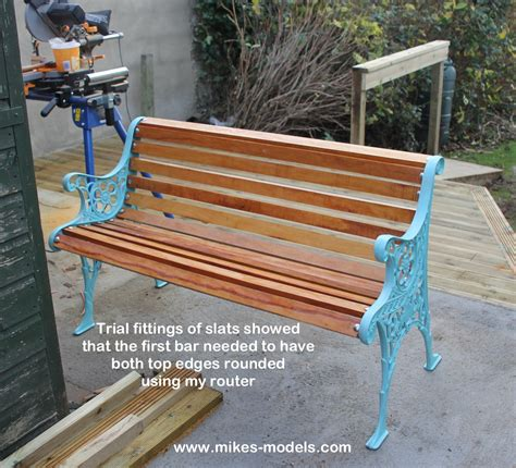 restore cast iron bench how to restore a cast iron bench by new wood and painting