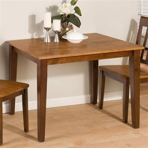 Small Kitchen With Dining Table Jofran Kura Small Rectangular Dining Table At Hayneedle