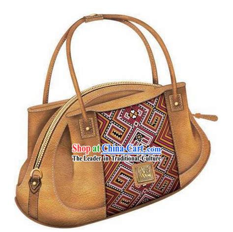 Minority Bags From by Made And Embroidered Miao Minority Handbag