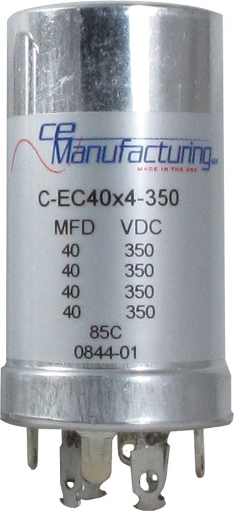 capacitor top marking capacitor ce mfg 350v 40 40 40 40uf antique electronic supply