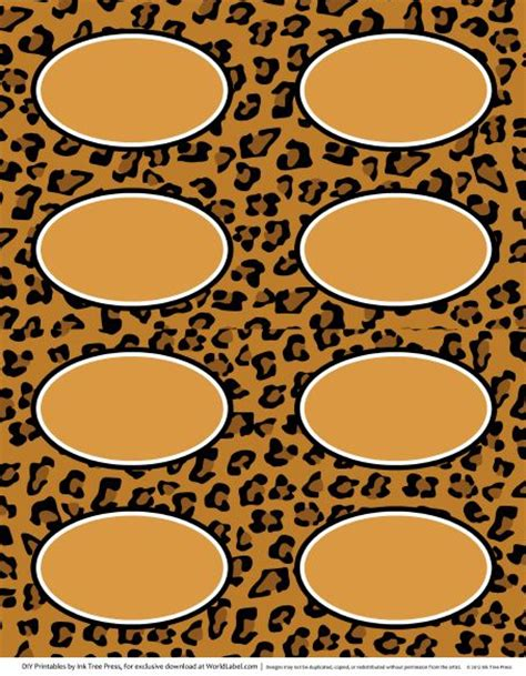 printable zebra print labels animal print labels for download free free printables