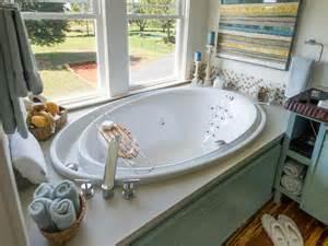Garden Tub Bathroom Master Bathroom Pictures From Cabin 2014 Diy