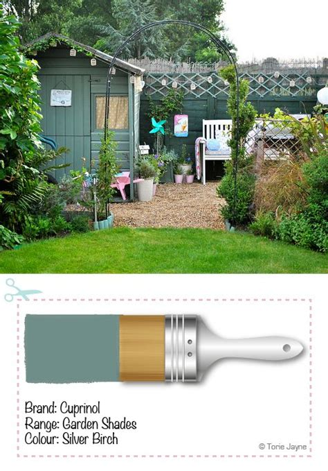 25 best ideas about painted shed on shed paint colours summer sheds and cottage