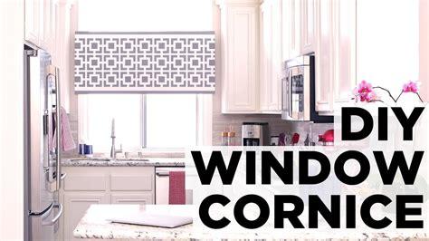 how to make a cornice how to make a window cornice box hgtv
