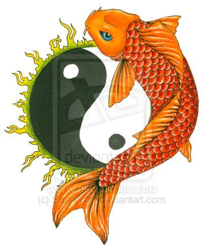 yin yang koi tattoo designs daily photo arts koi tattoos