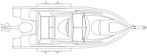 Dimensions Of A Three Car Garage Boat On Trailer Cad Block Dwg Cadblocksfree Cad Blocks Free