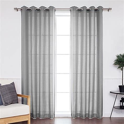 outdoor grommet curtains decorinnovation oxford grommet top outdoor curtain panel