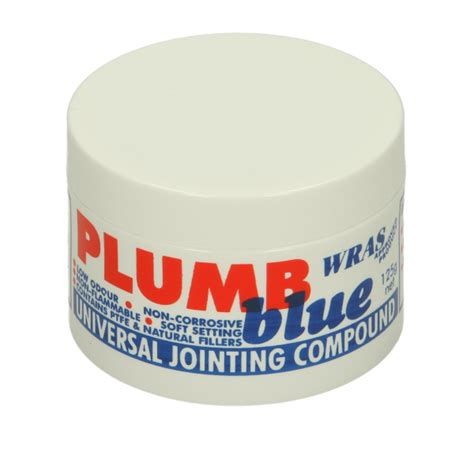 Jointing Compound Plumbing plumb blue universal jointing compound 125g
