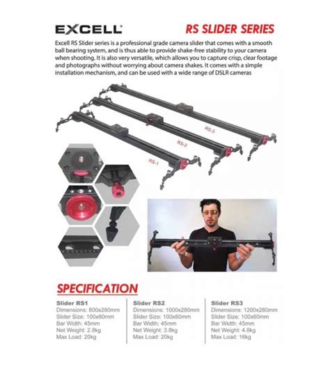 Excell Slider Rs 2 Termurah excell slider rs 1