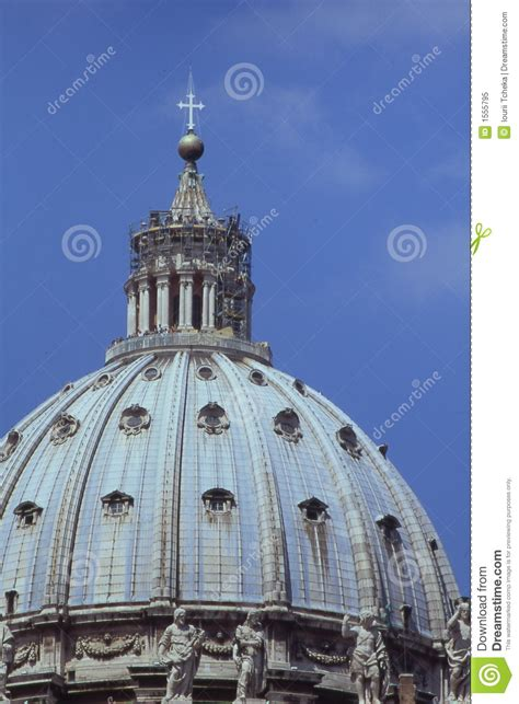 Cupola Vatican st peters cupola vatican royalty free stock photo image 1555795