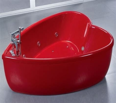 heart shaped bathtub heart shaped red bathtub the red it filters through