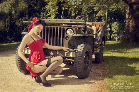 jeep pin up girls carentan liberty march c est parti page 5
