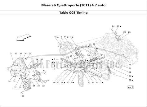 car maintenance manuals 2010 maserati quattroporte spare parts catalogs service manual 2012 maserati quattroporte timing chain replacement diagram maserati