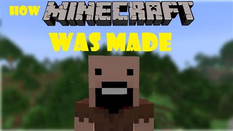 when was minecraft made how minecraft was made a minecraft short youtube