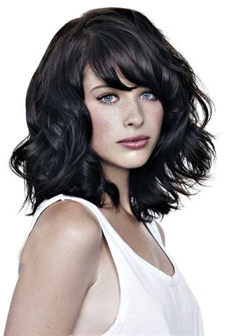 hairstyles dark hair medium length 20 medium lenght hairstyles hairstyles haircuts 2016