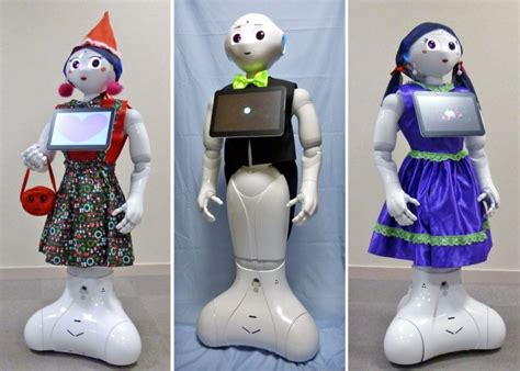 Pepper robot: Now you can dress up your companion to make