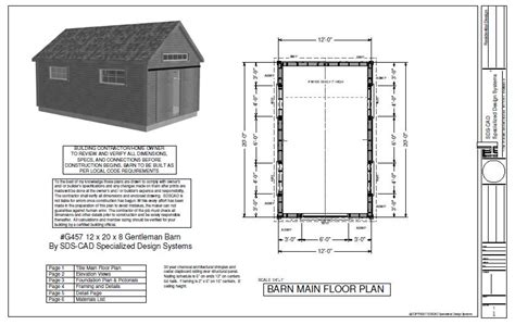 20 x 30 pole barn shed plans furthermore cape cod cabin floor plans