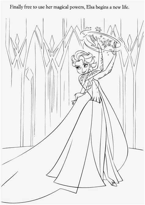 Disney Frozen Coloring Pages Elsa Instant Knowledge Disney Frozen Coloring Pages For Elsa Free