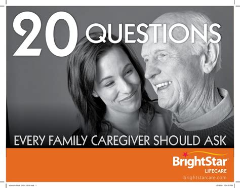 20 questions every caregiver should ask