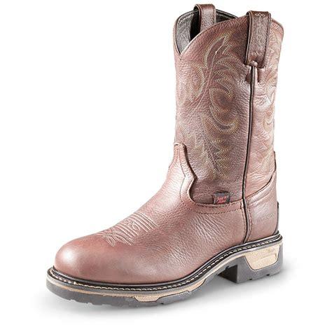 mens cowboy work boots s tony lama tlx cowboy work boots steel toe