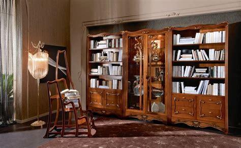 libreria le fablier librerie classiche modelli tradizionali per il soggiorno