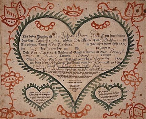 Pennsylvania Marriage Records 1800s 1000 Images About Folk And Fraktur On