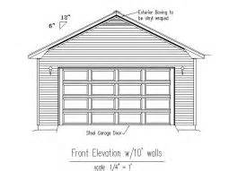 Drawing Of A House With Garage typical garage plans and designs by vance hester designs