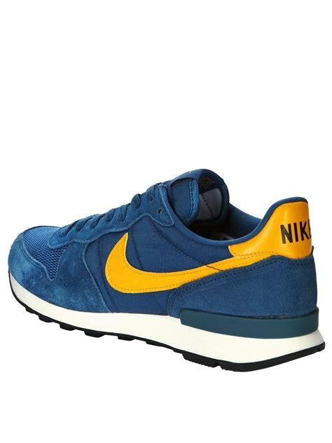 Nike Blue nike internationalist trainers in blue for blue
