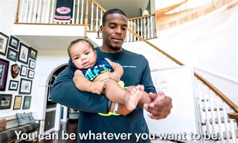 cam baby cam newton reads touching poem in adorable video for his 1